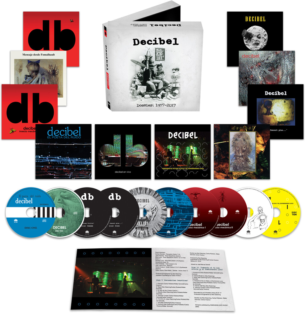 Decibel - Dossier 1977-2017 (Box)