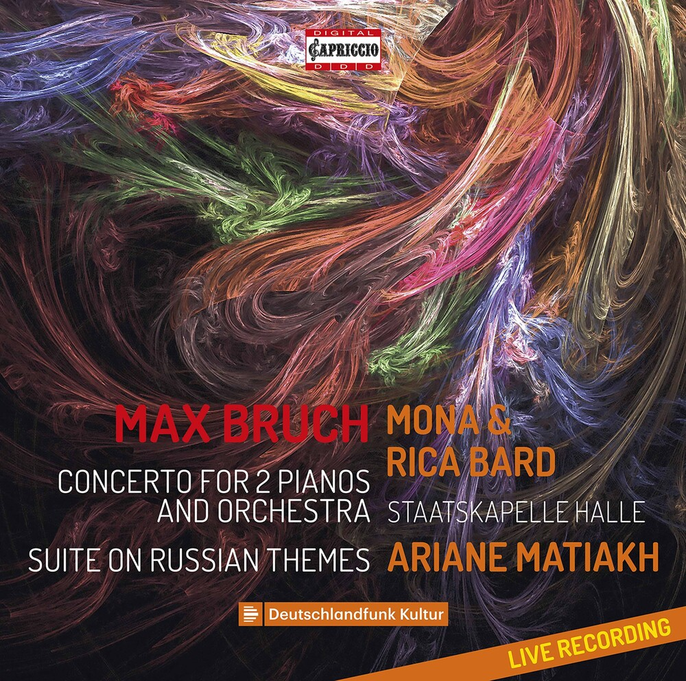 Bruch / Staatskapelle Halle / Matiakh - Concerto For 2 Pianos