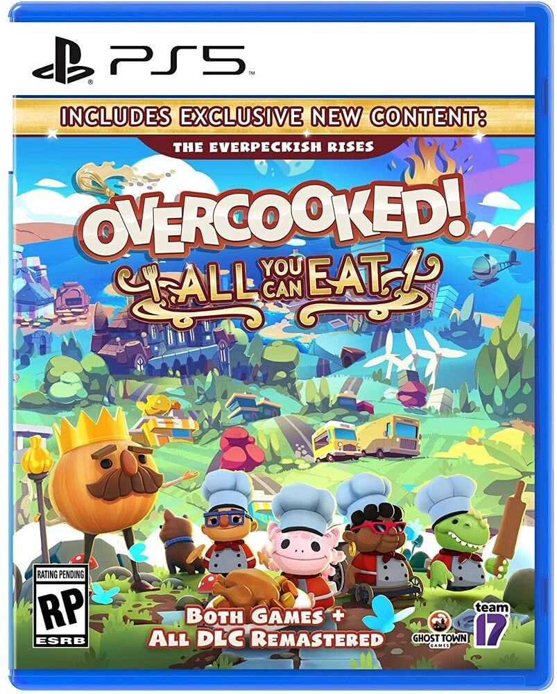 Ps5 Overcooked! All You Can Eat - Ps5 Overcooked! All You Can Eat