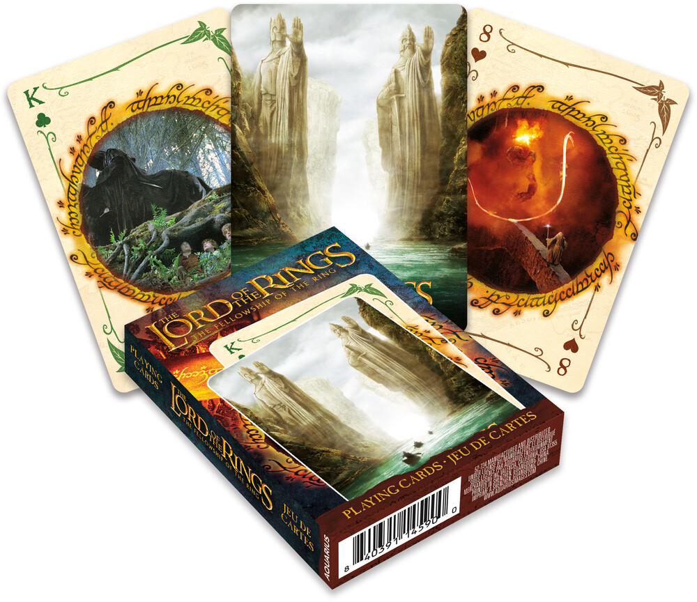 Lord of the Rings Fellowship Playing Cards Deck - Lord Of The Rings Fellowship Playing Cards Deck