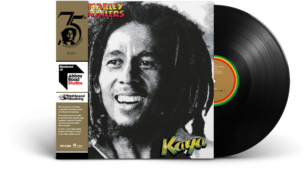 Bob Marley & The Wailers - Kaya: Half-Speed Mastering [LP]