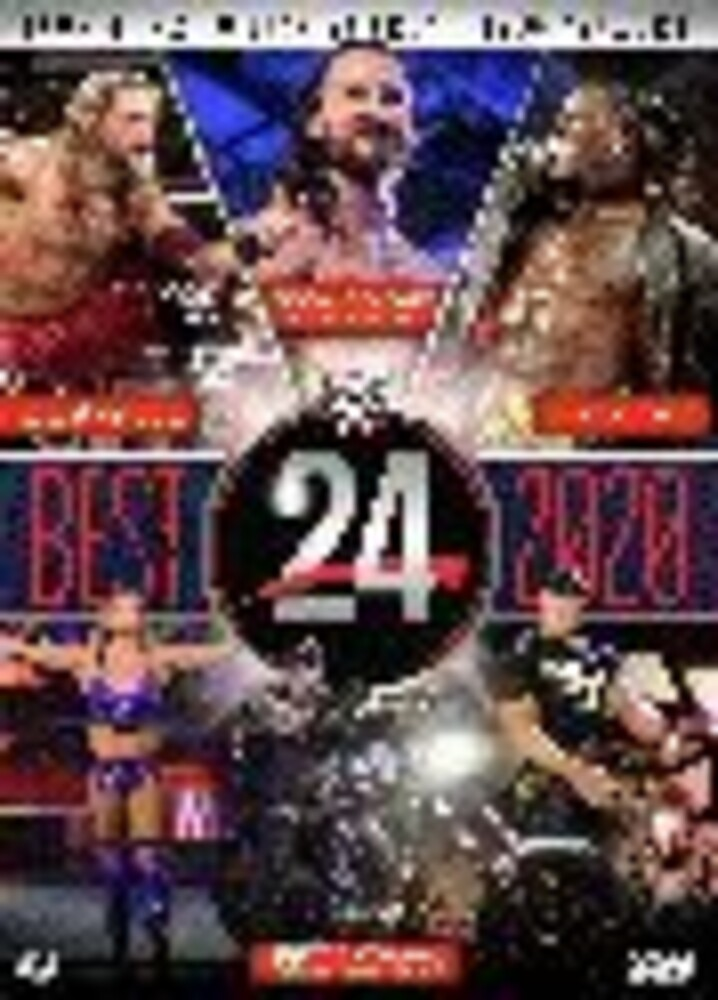 WWE: Wwe24 the Best of 2020 - Wwe: Wwe24 The Best Of 2020 (2pc) / (2pk Amar)