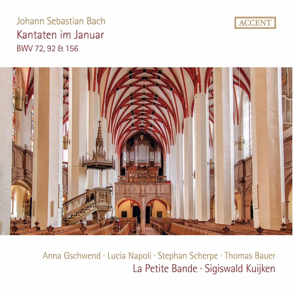 J Bach S / Gschwend / Kuijken - Kantaten Im Januar