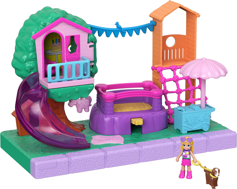 Polly Pocket - Mattel - Polly Pocket Pollyville Outdoor Places Assortment