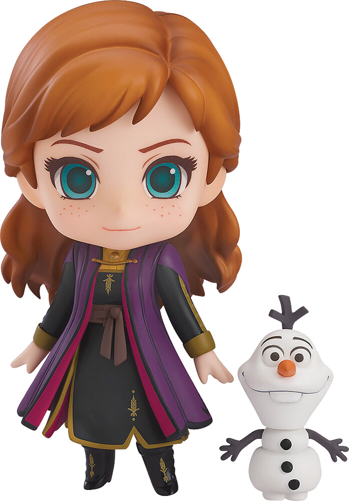 Good Smile Company - Good Smile Company - Disney Frozen 2 Anna Travel Costume NendoroidAction Figure