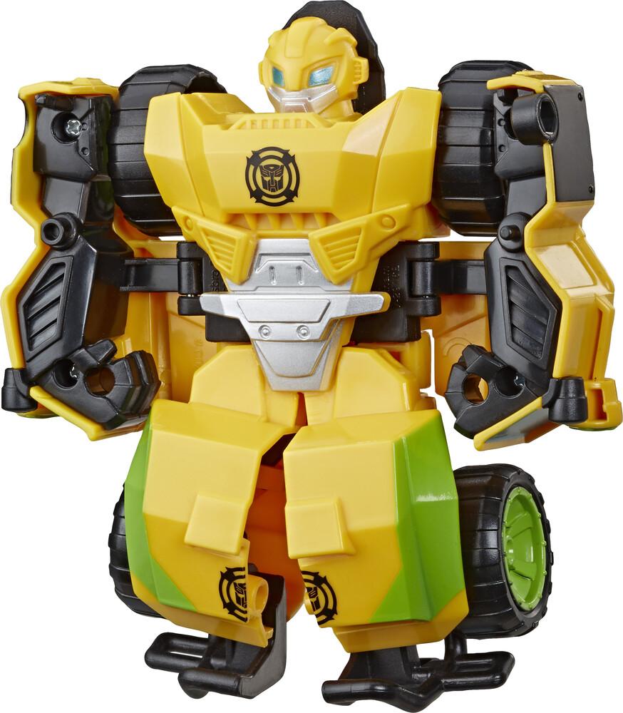 Tra Rbt Bumblebee Rock Crawler - Hasbro Collectibles - Transformers Rescue Bots Academy Bumblebee RockCrawler
