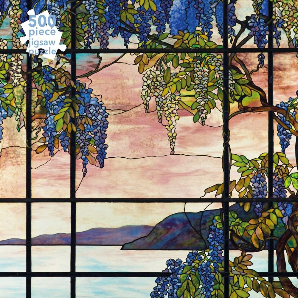 Flame Tree Studio - Adult Jigsaw Puzzle Tiffany Studios: View of Oyster Bay: 500-pieceJigsaw Puzzle