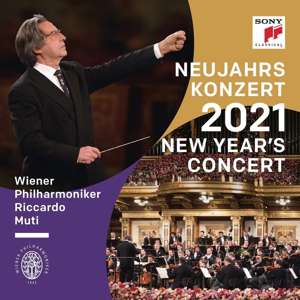 Riccardo Muti  / Vienna Philharmonic - New Year's Concert 2021 (Ger)