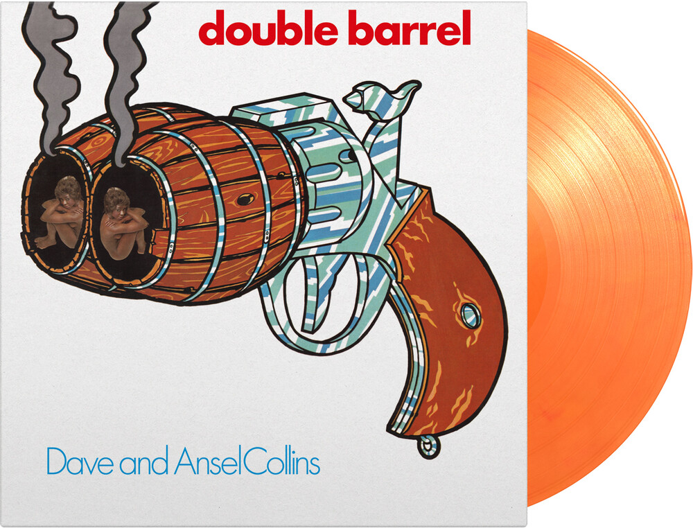Dave Collins  / Collins,Ansel - Double Barrel [Limited 180-Gram Orange Colored Vinyl]