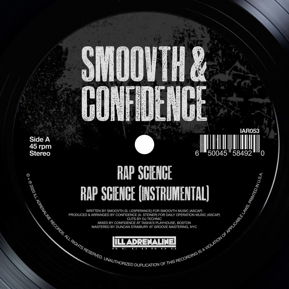 Smoovth & Confidence - Rap Science / Come Get It