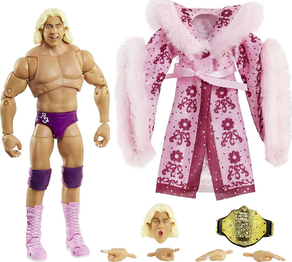 WWE - Mattel Collectible - WWE Ultimate Elite Ric Flair