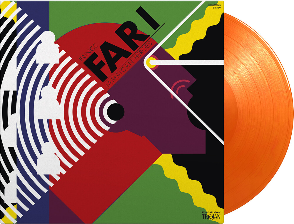Prince Far I - Jamaican Heroes [Limited 180-Gram Orange Colored Vinyl]