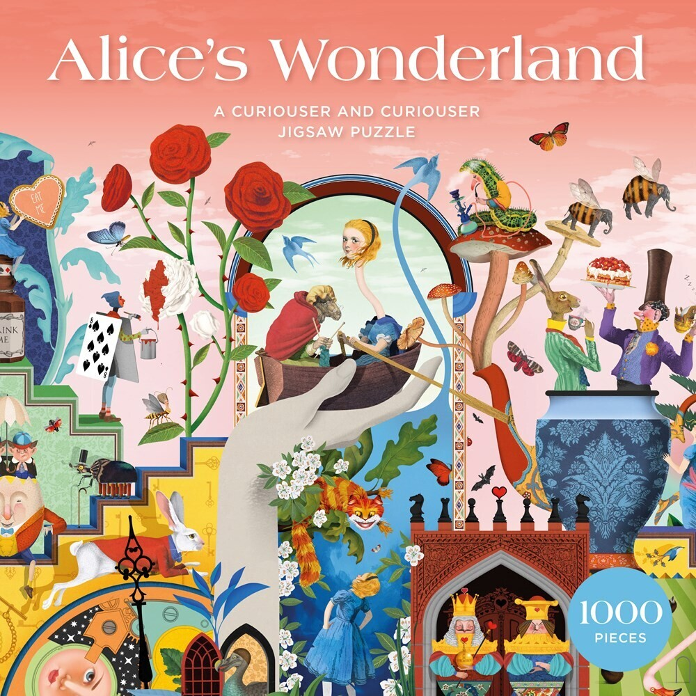 - The World of Alice in Wonderland: A Curiouser and Curiouser 1000-Pieces Jigsaw Puzzle