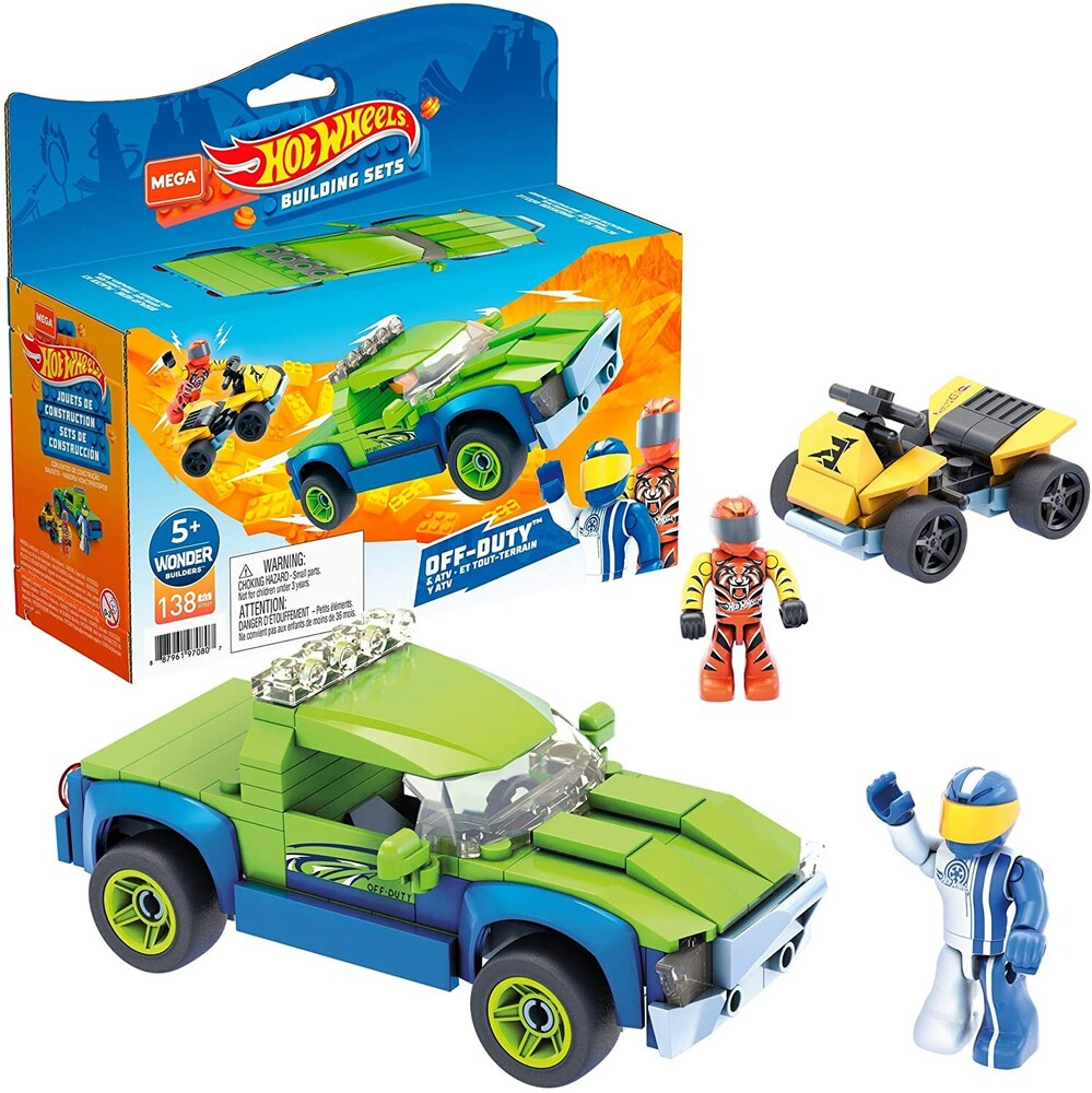 - Mega Brands - Hot Wheels Off Duty & ATV Construction Set