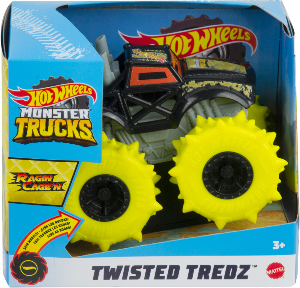- Mattel - Hot Wheels Monster Trucks 1:43 Ragin Cagen