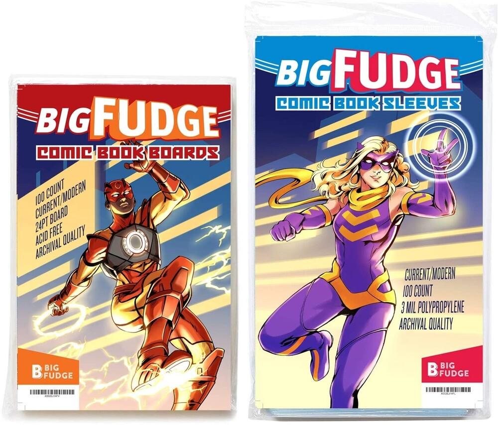 - Big Fudge Bfcscbx100us Commic Bags/Brds Bndl 100ea