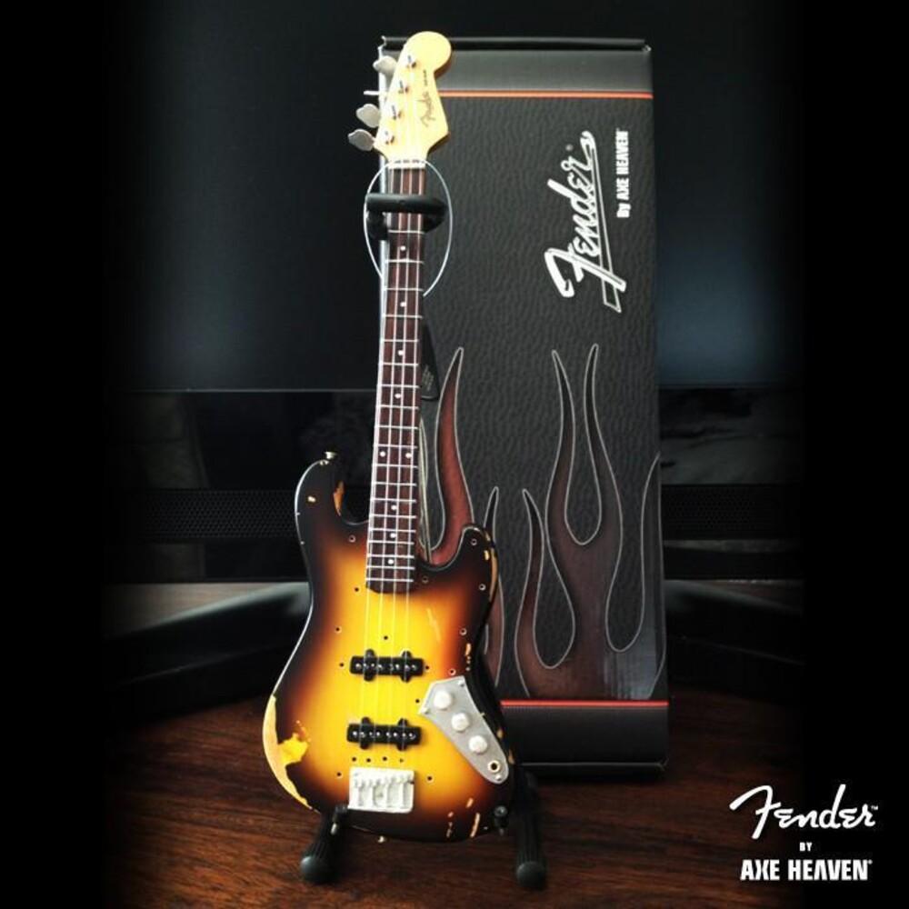 - Jaco Pastorius Fender Sunburst Jazz Mini Bass