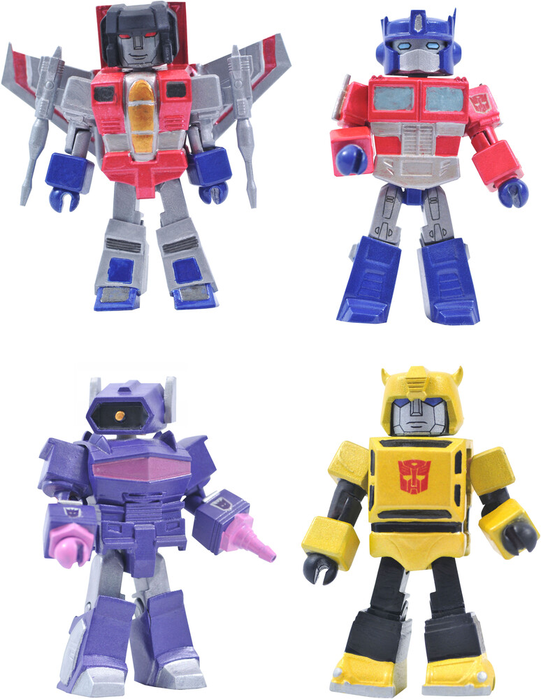 - Transformers Series 1 Minimates Box Set (Clcb)