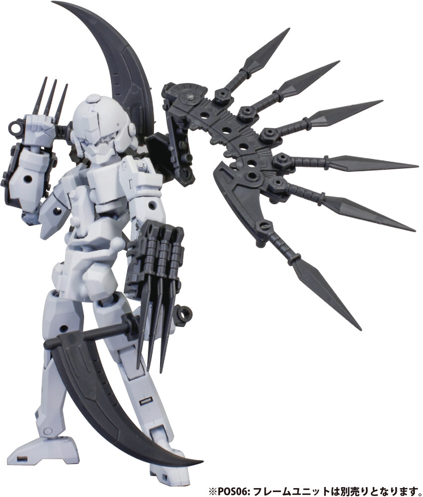 - Pla Act Option Series 03 Soujin Plastic Model Kit