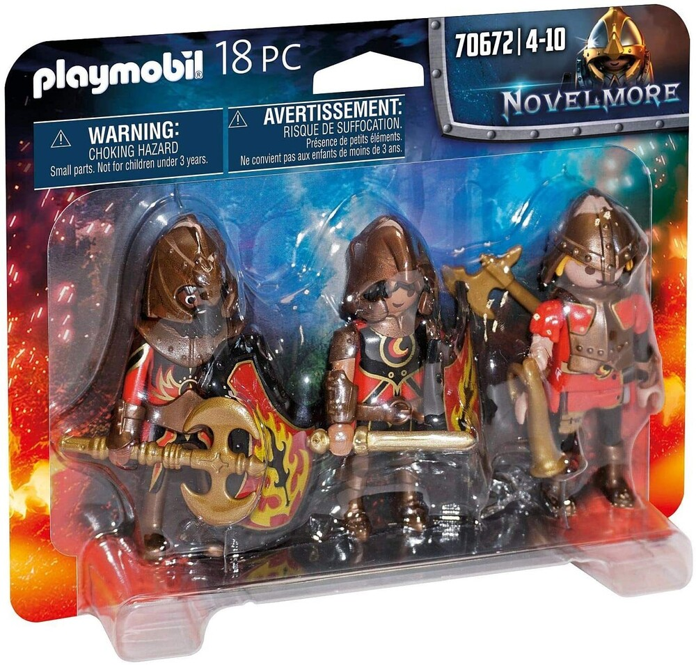 - Novelmore Burnham Raiders Set (Fig)