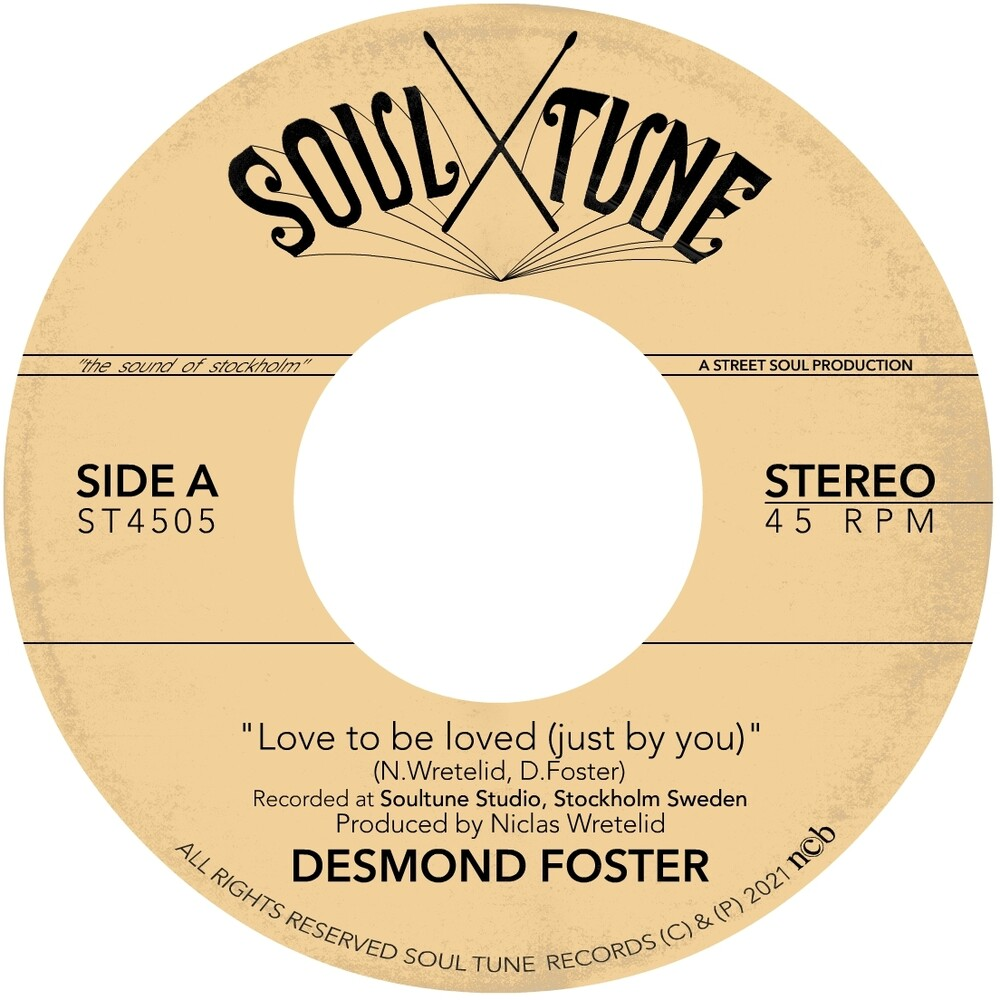 Desmond Foster - Love To Be Loved (Just By You)