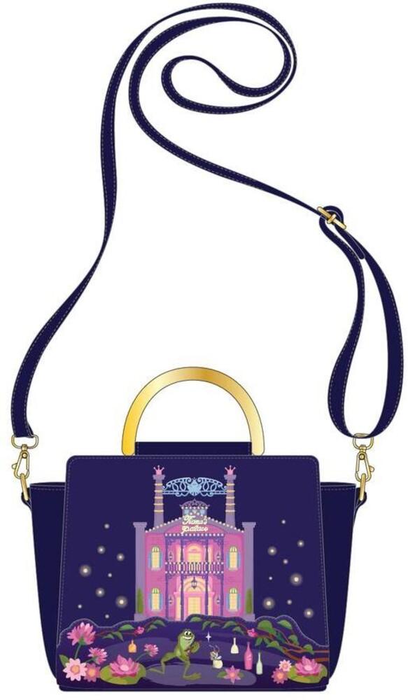 Loungefly Disney: - Princess And The Frog Tiana's Palace Crossbody Bag