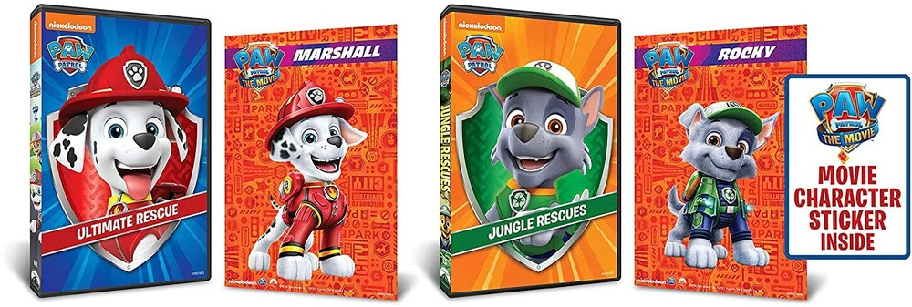 Paw Patrol: Ultimate Rescue / Jungle Rescues - Paw Patrol: Ultimate Rescue / Jungle Rescues (2pc)