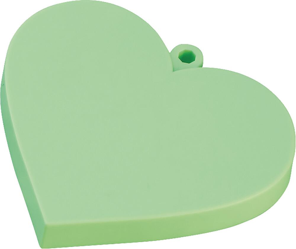 - Nendoroid More Heart Base Green (Clcb) (Fig)