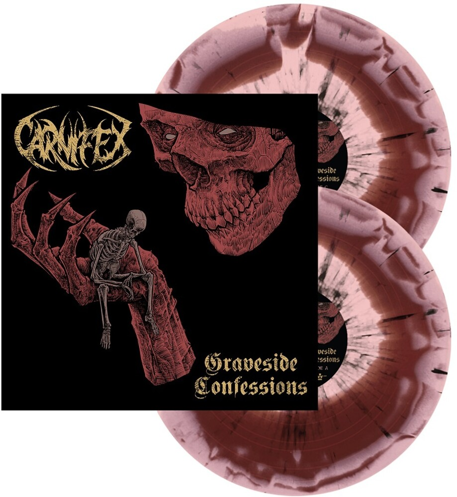 Carnifex - Graveside Confessions (Red & Pink Swirl W Black)