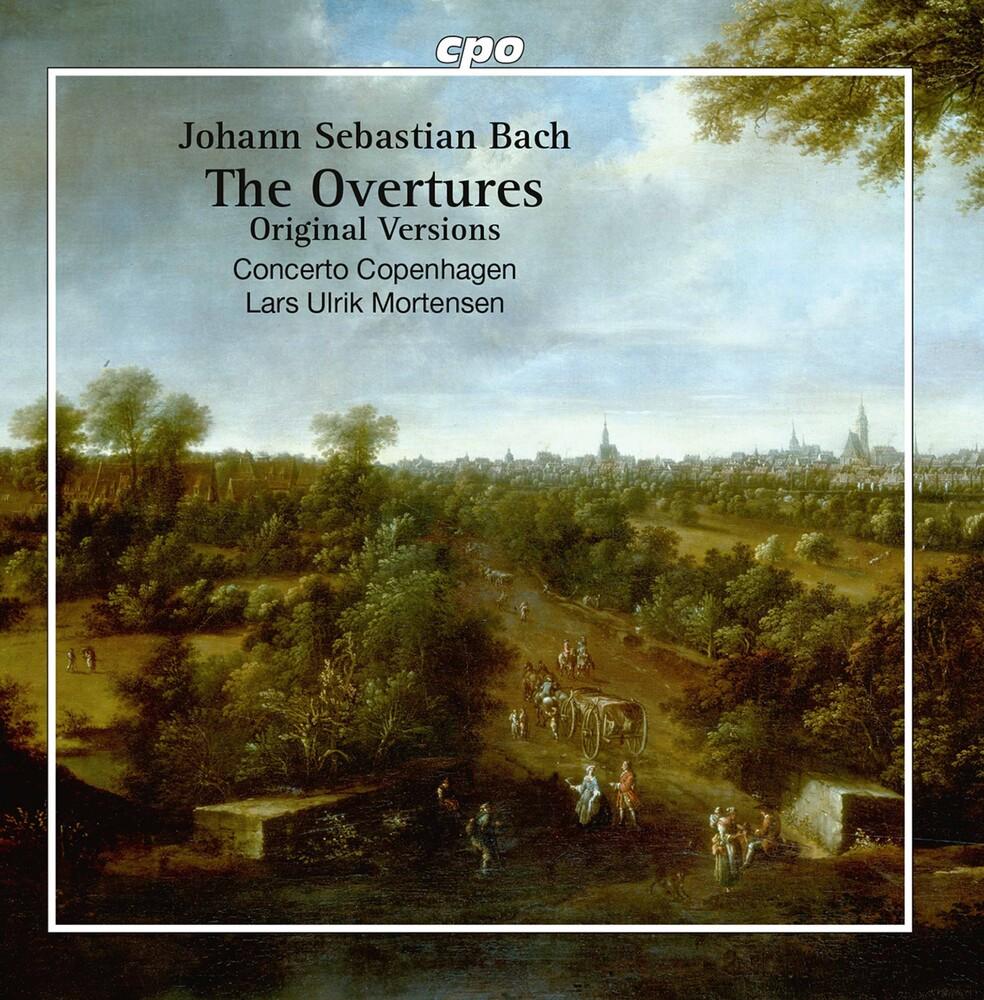 J Bach .S. / Concerto Copenhagen / Mortensen - Overtures Bwv 1066-1069