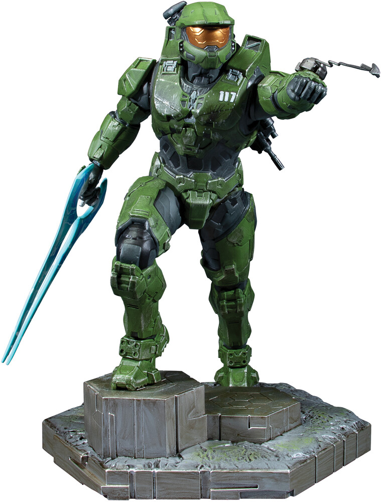 - Halo Infinite Master Chief With Grappleshot Pvc