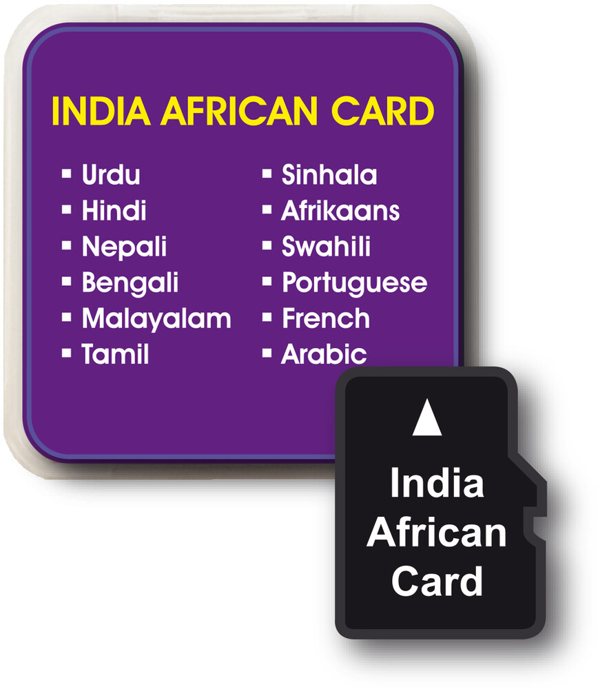 Franklin - India African Languages Add On Card For Lv4-D