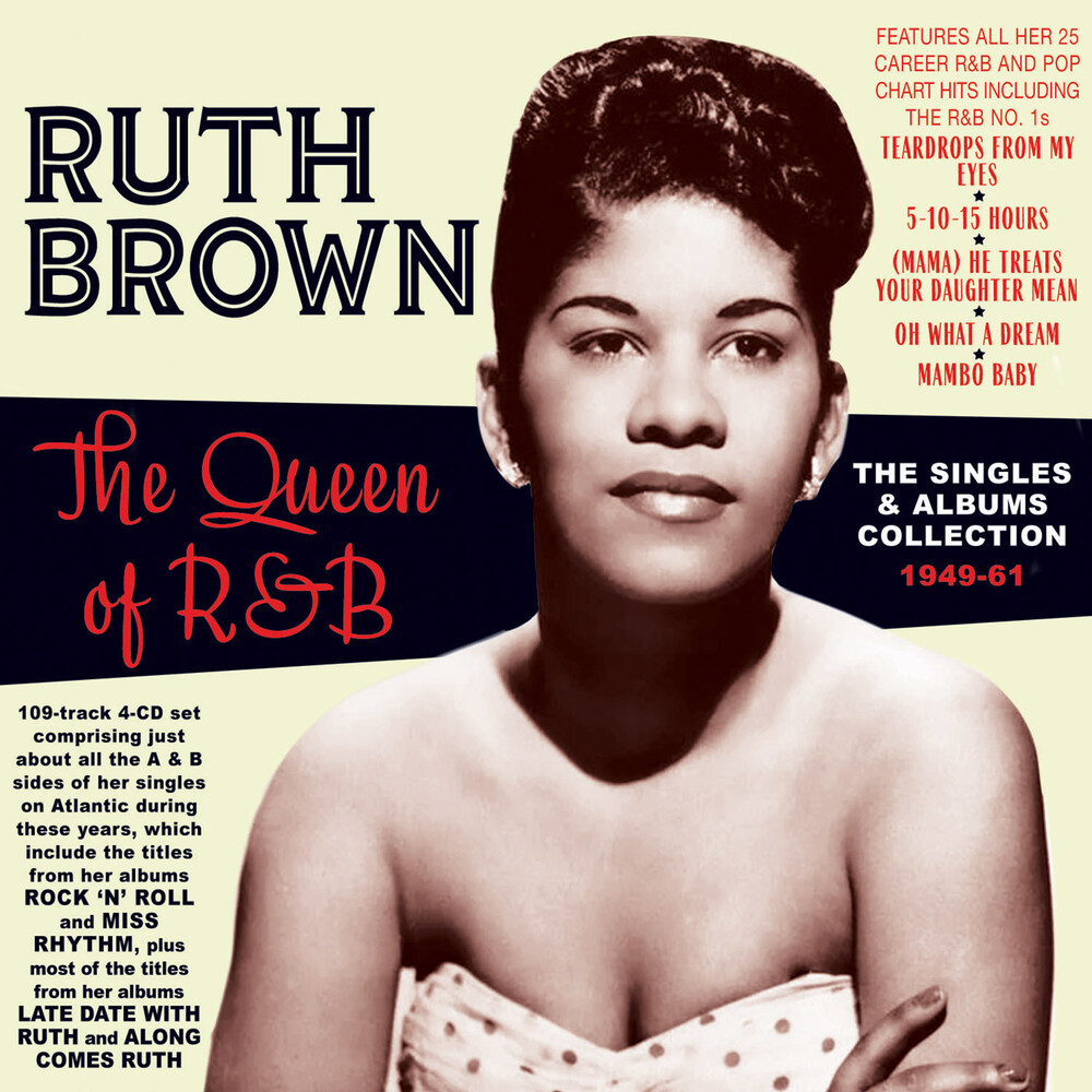 Ruth Brown - Queen Of R&B: The Singles & Albums Collection