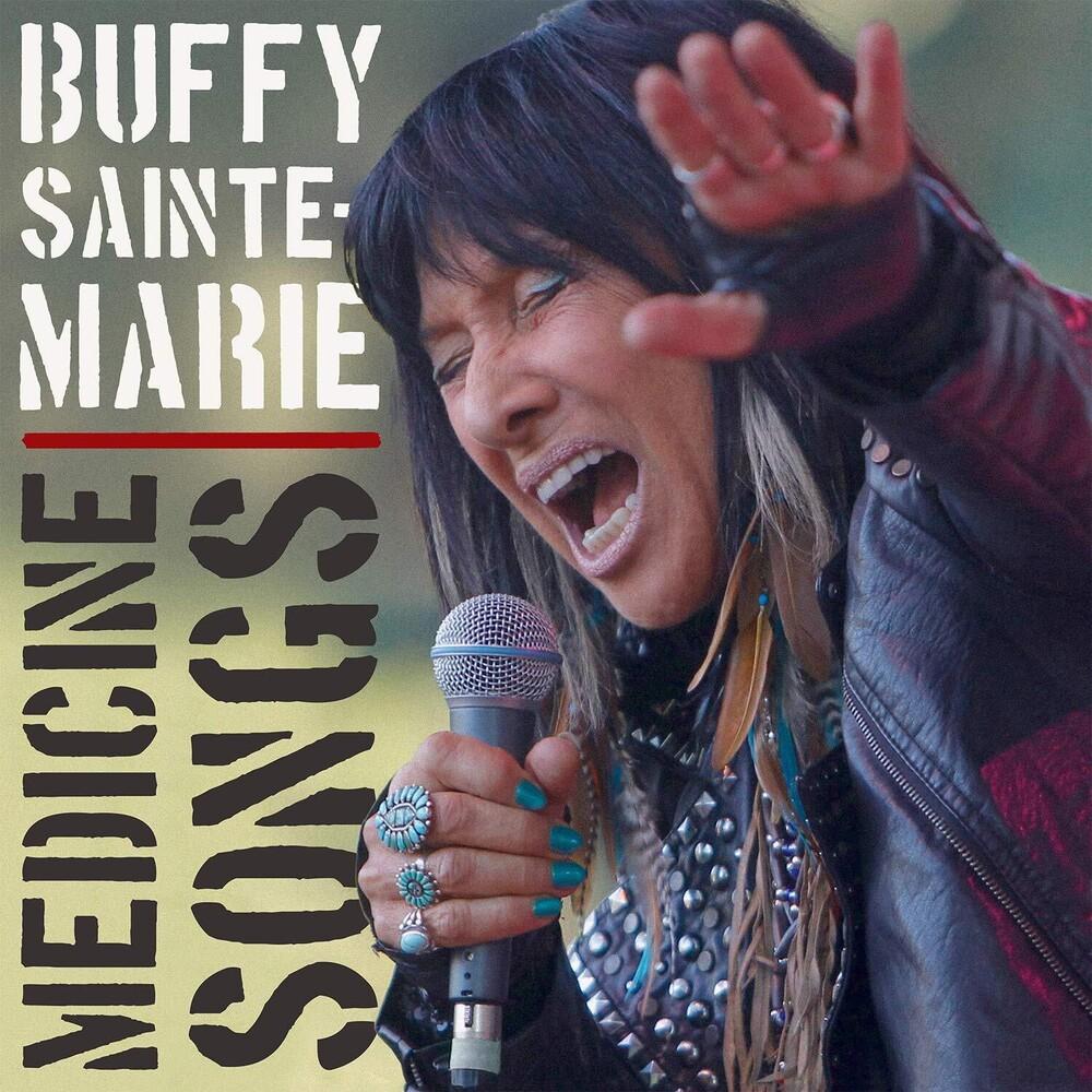 Sainte-Buffy Marie - Medicine Songs (Red Vinyl) [Colored Vinyl] [180 Gram] (Red)