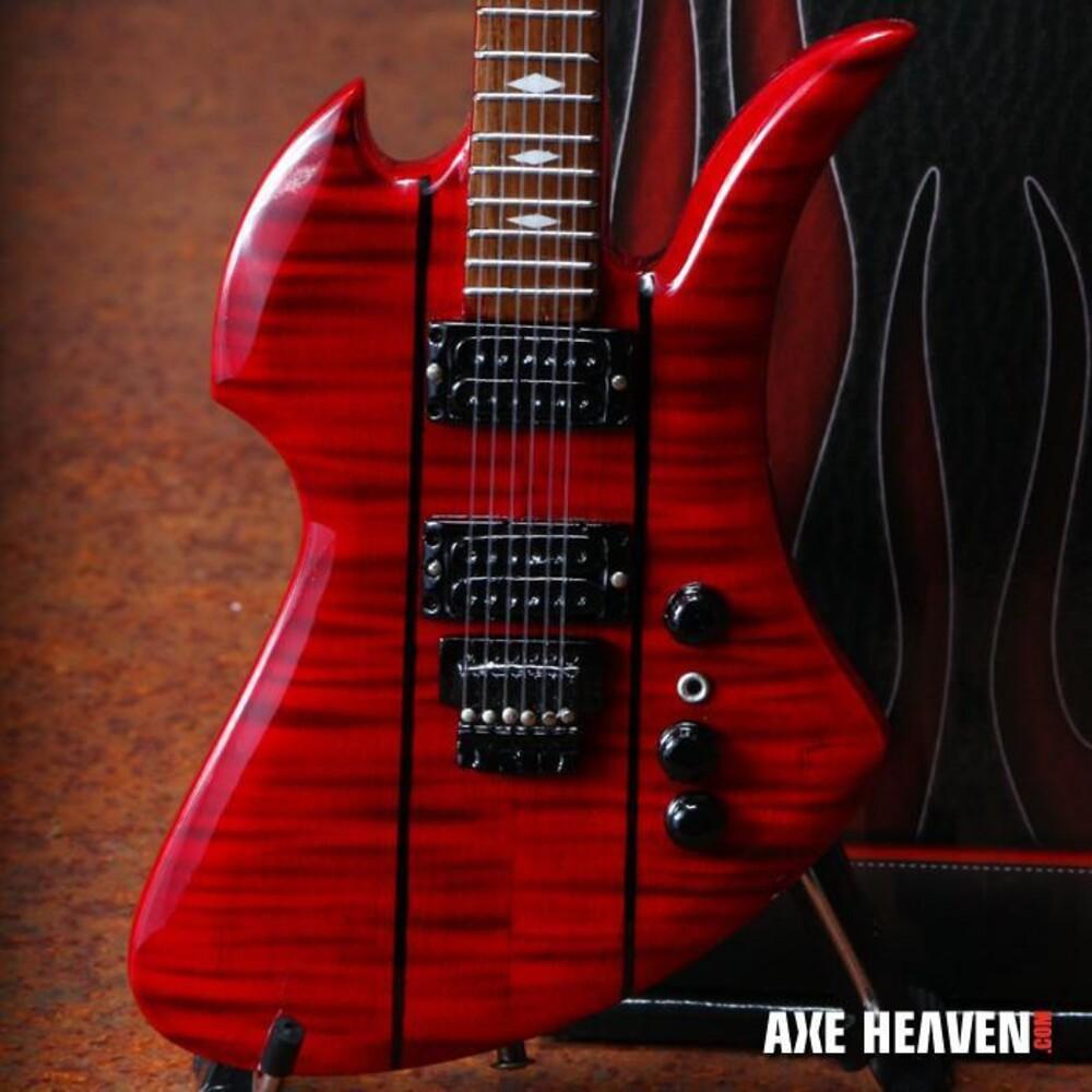 Slash Guns N Roses BC Rich Mockingbird Mini Guitar - Slash Guns N Roses Bc Rich Mockingbird Mini Guitar