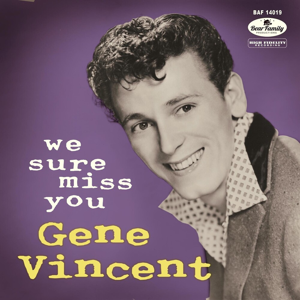 Gene Vincent - We Sure Miss You (W/Cd) (10in) [With Booklet]