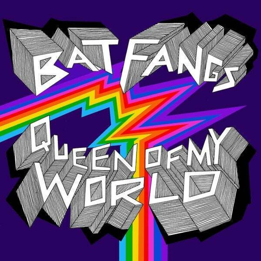 Bat Fangs - Queen Of My World [Colored Vinyl] (Ylw) [Download Included]