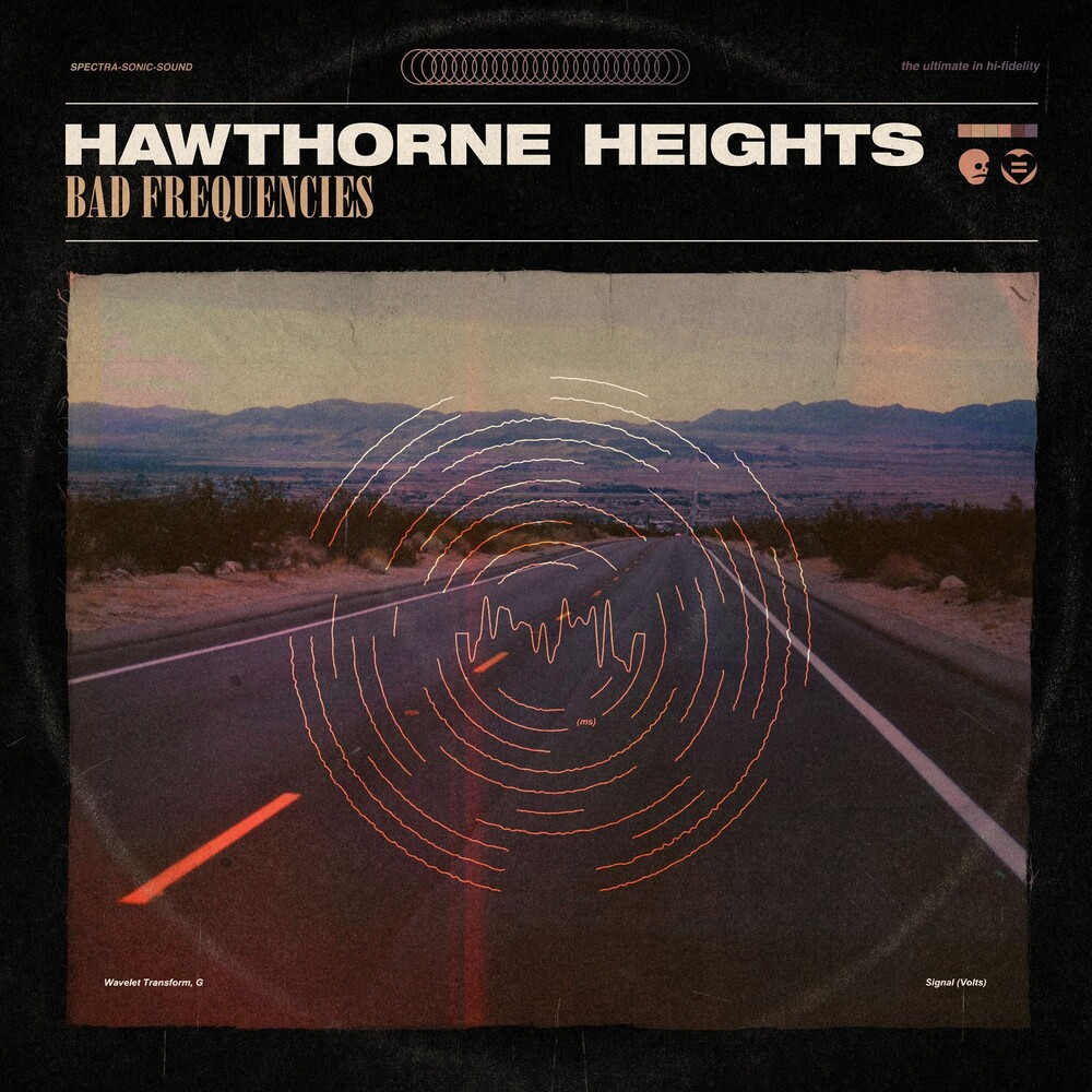 Hawthorne Heights - Bad Frequencies [Indie Exclusive Limited Edition Bone White + Electric Blue LP]