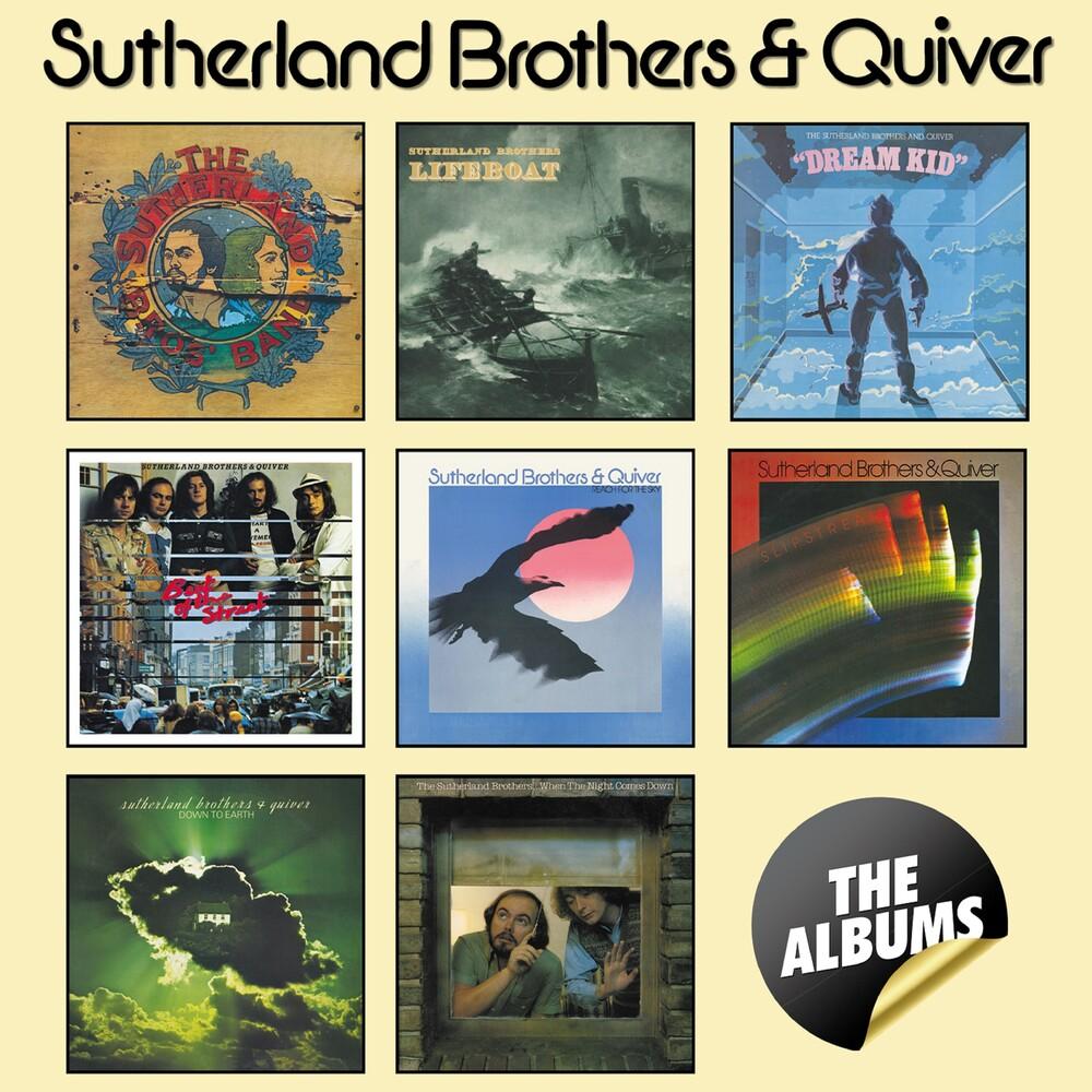 Sutherland Brothers & Quiver - Albums Boxset (Box) (Uk)