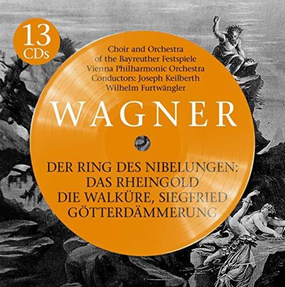 WILHELM FURTWANGLER - Der Ring Des Nibelungen (Box)