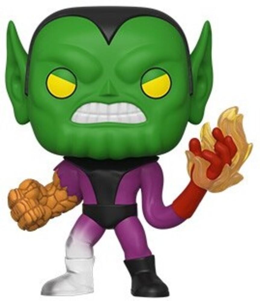 Funko Pop! Marvel: - FUNKO POP! MARVEL: Fantastic Four - Super-Skrull