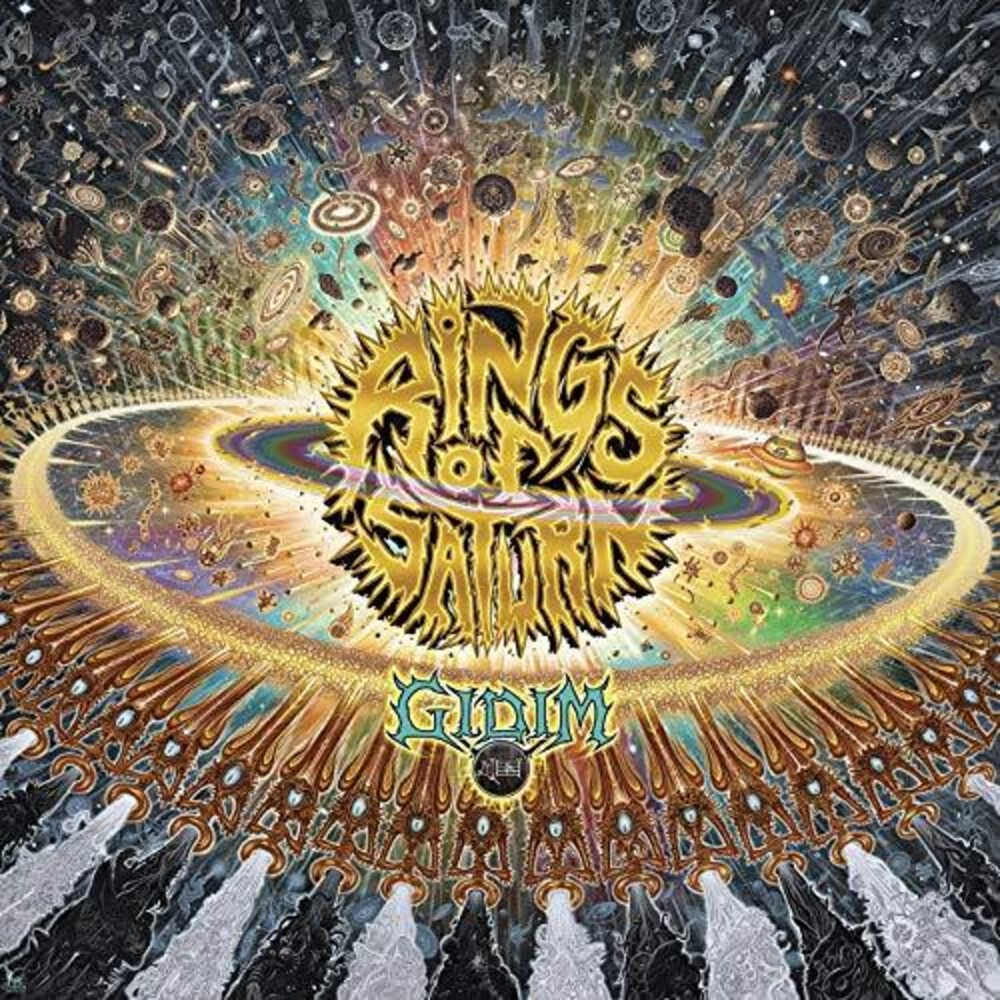 Rings Of Saturn - Gidim [Limited Edition Orange LP]
