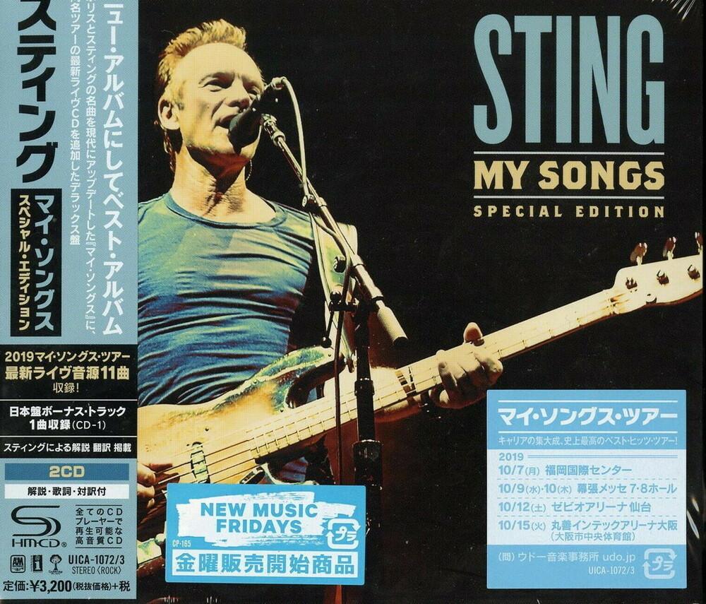 Sting - My Songs [Deluxe] (Shm) (Jpn)
