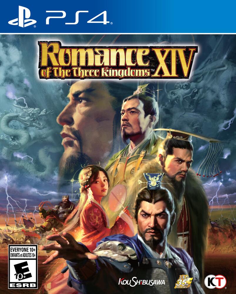 Ps4 Romance of the Three Kingdoms Xiv - Romance of the Three Kingdoms XIV for PlayStation 4