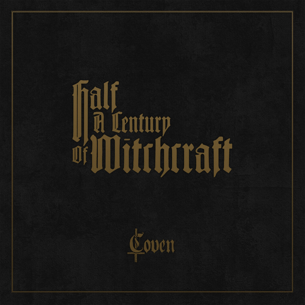 Coven - Half A Century Of Witchcraft (W/Book) (Box) [Limited Edition]