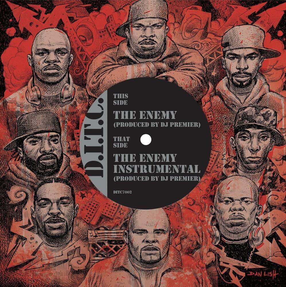 Ditc - The Enemy Produced By Dj Premier / Instrumental