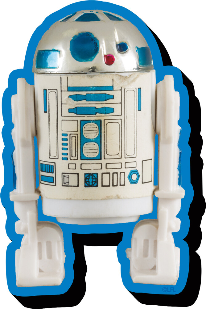 Star Wars R2-D2 Action Figure Funky Chunky Magnet - Star Wars R2-D2 Action Figure Funky Chunky Magnet