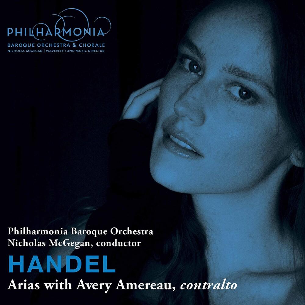 Handel / Philharmonia Baroque Orch / Amereau - Handel Arias