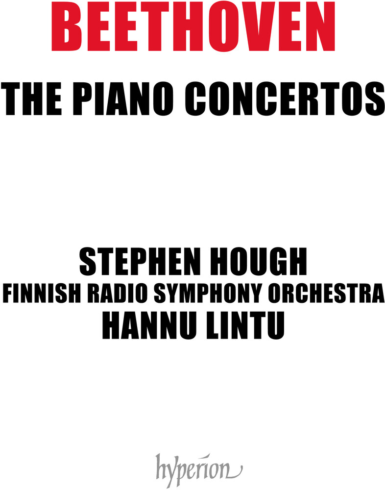 Stephen Hough - Beethoven: The Piano Concertos