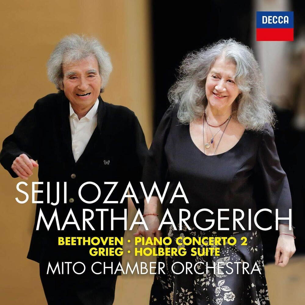 Martha Argerich / Ozawa,Seiji / Mito Chamber Orch - Beethoven: Piano Concerto 2 / Grieg: Holberg Suite